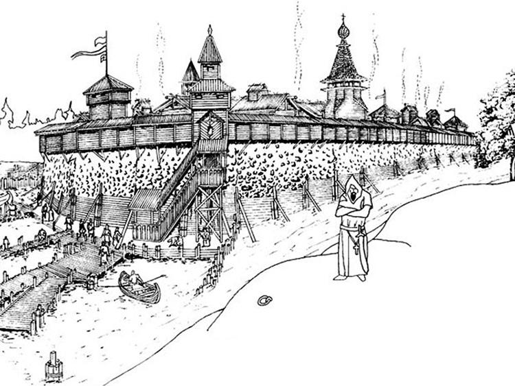 Тиверская крепость