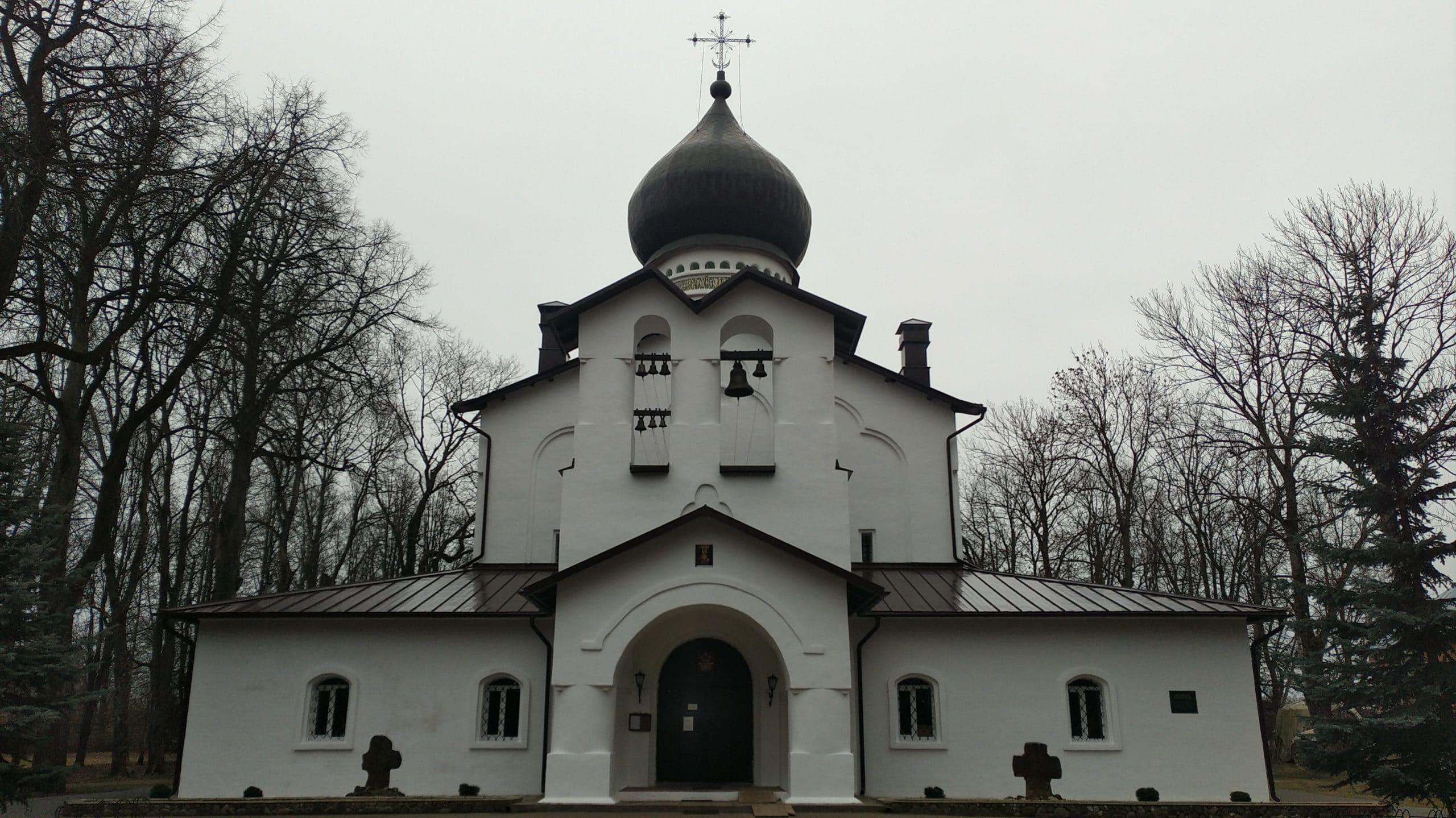 Город Гдов: главный храм