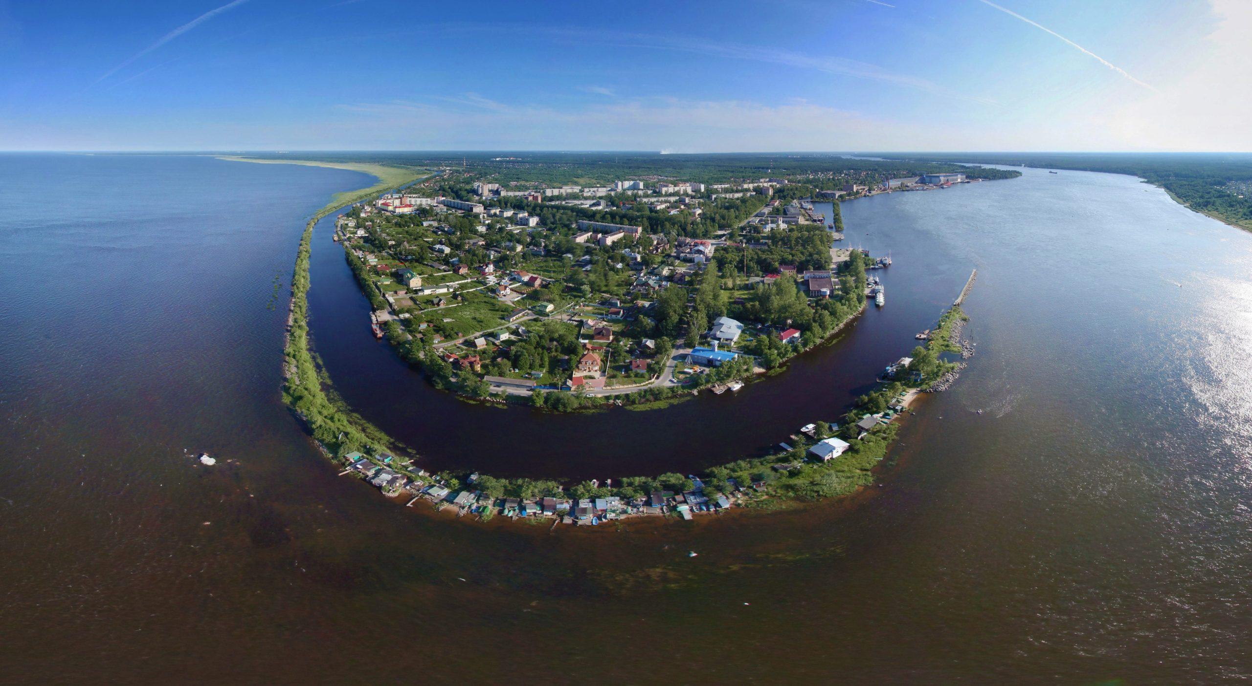 Достопримечательности Шлиссельбурга - Новоладожский канал