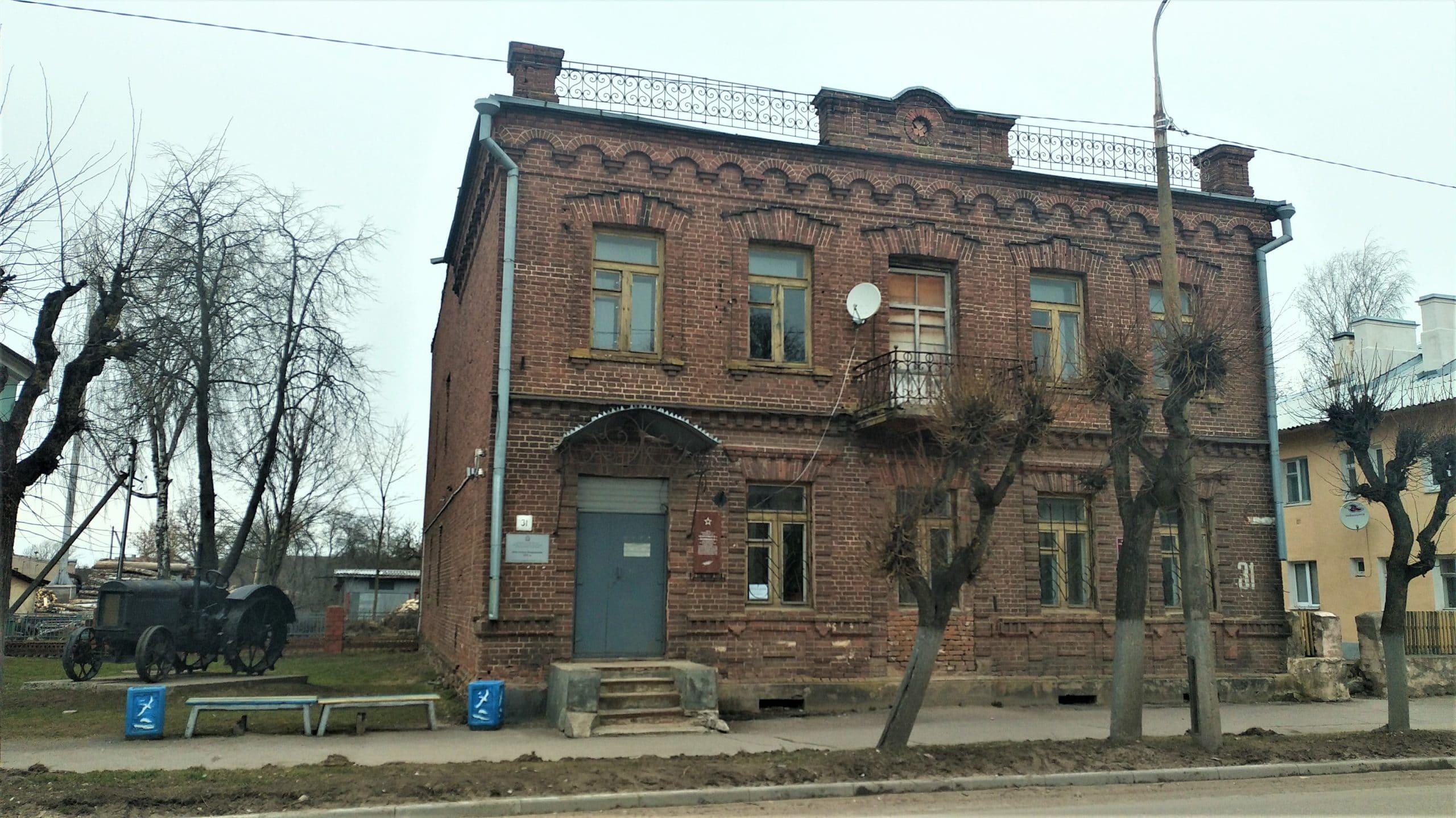 Город Гдов: местный краеведческий музей