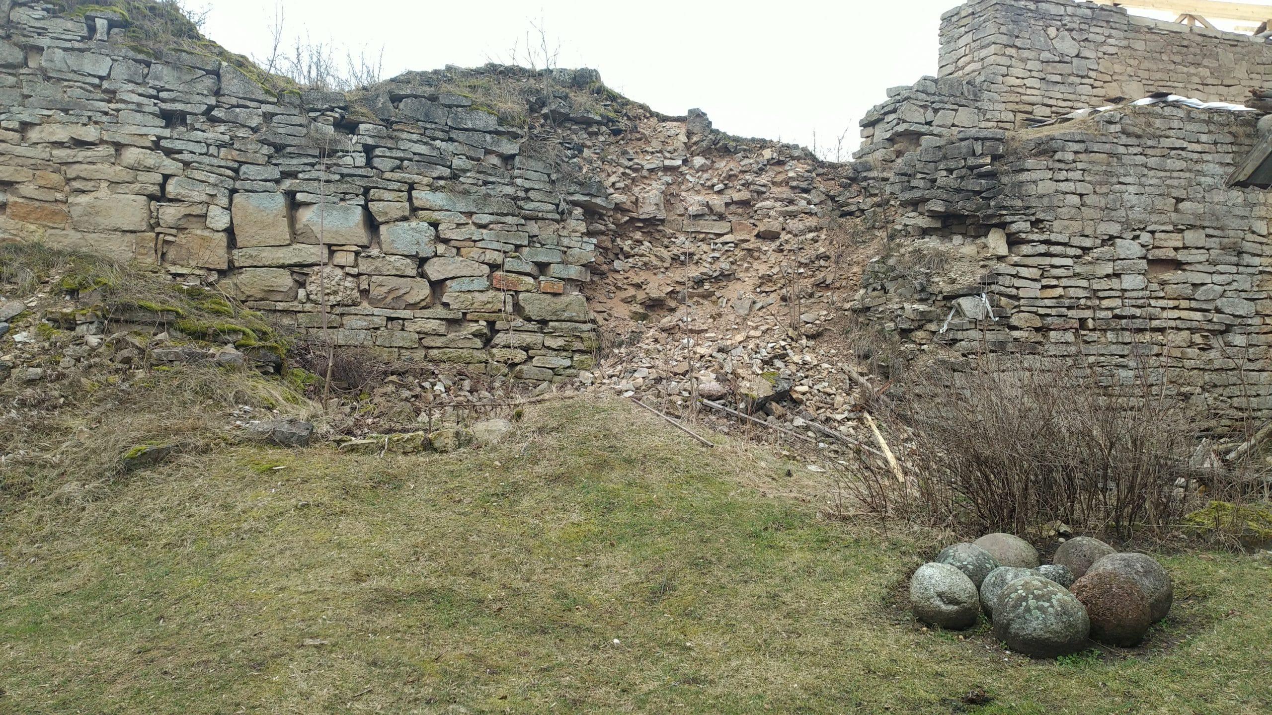 Порховская крепость внутри