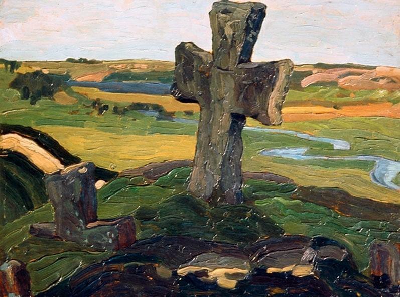 Труворов крест кисти Николая Рериха