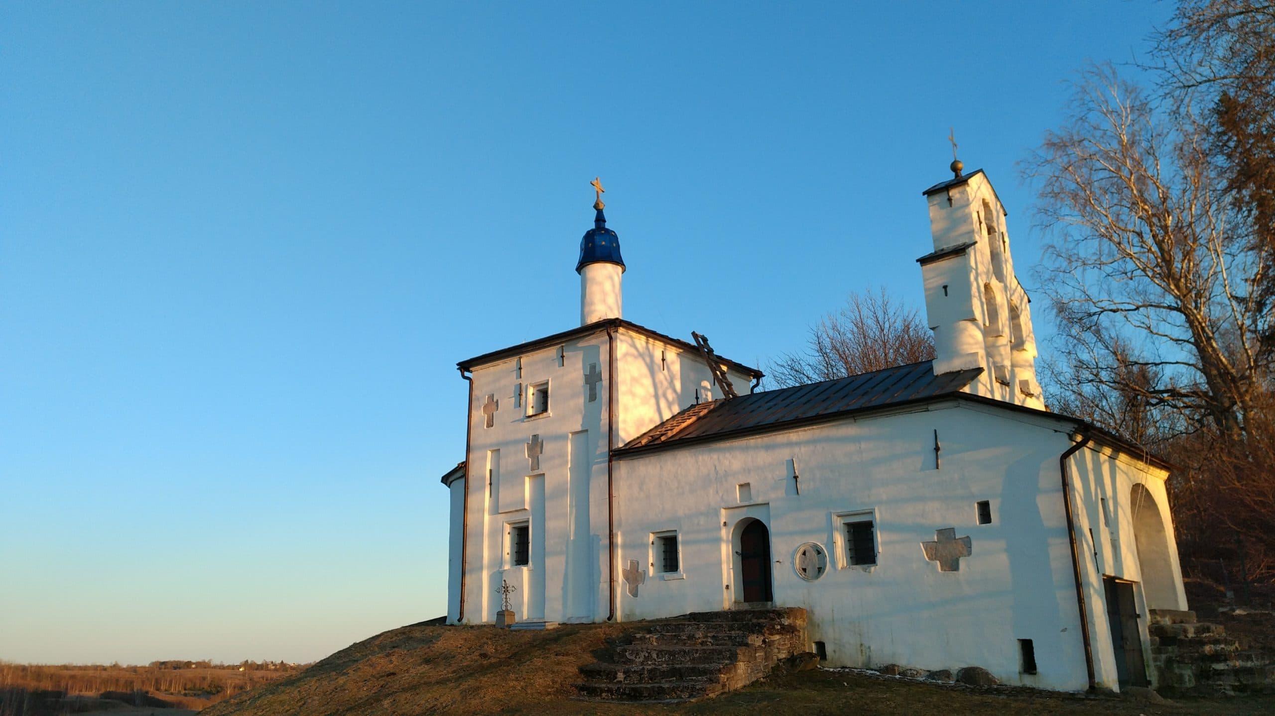 Труворово городище. Никольская церковь