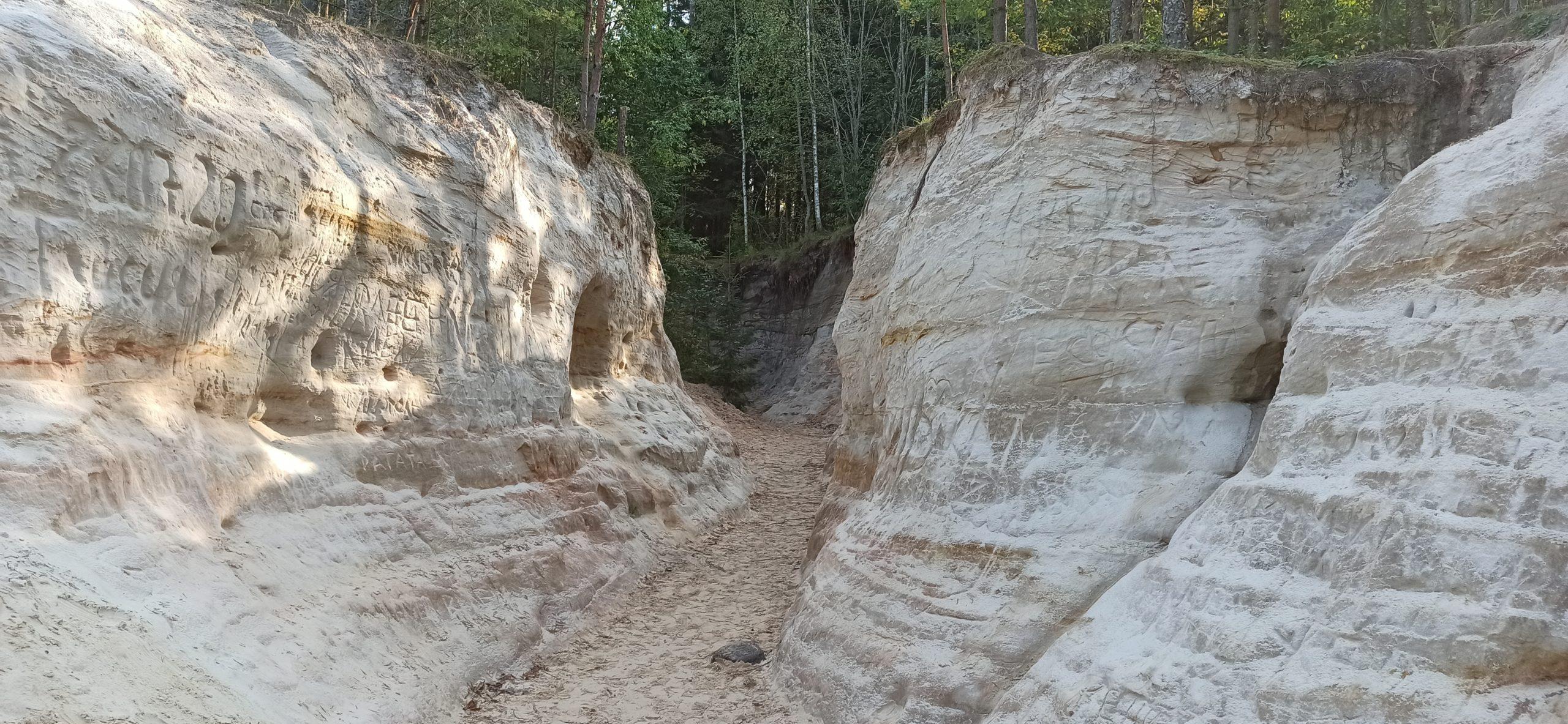Вокруг Луги: Лужский каньон