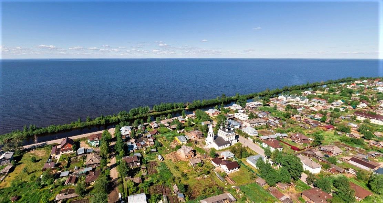 Город Белозерск. Белое озеро