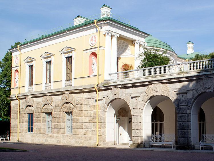 Царские бани в Пушкине: холодная баня