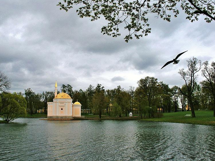 Царские бани в Пушкине: турецкая баня