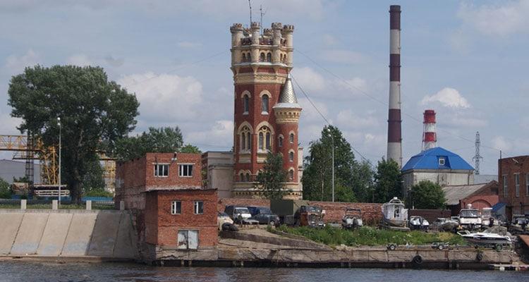 Водонапорные башни Петербурга